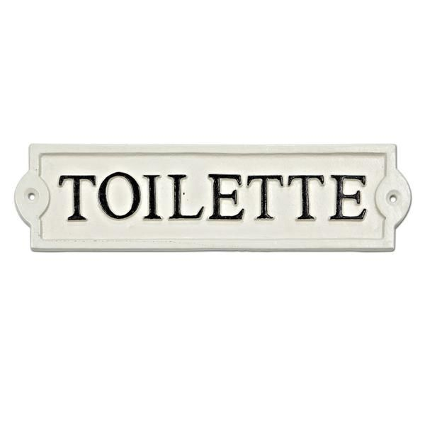 Toilette Sign – The White Wood Cottage Co.