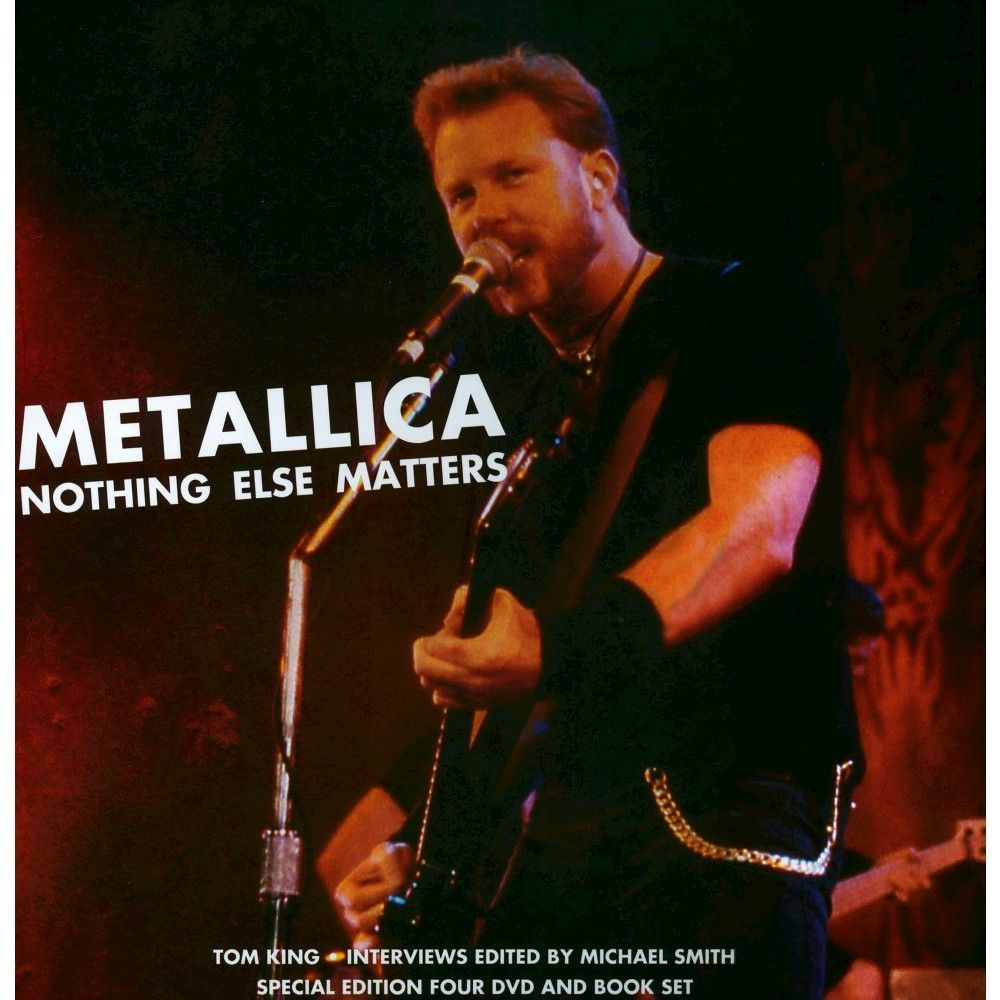 Metallica: Nothing Else Matters (4 Discs) (With Book)