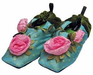 Fortuny Rose Child Slipper-  Product Code : fortunyrose  Retail price : $31.00  Availability : Usually ships in 2-3 business days.  Brand : Goody Goody