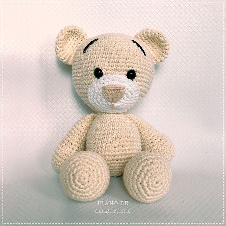 Receita Urso Grande Amigurumi -- Você vai encontrar Amigurumi Urso ... | 750x750