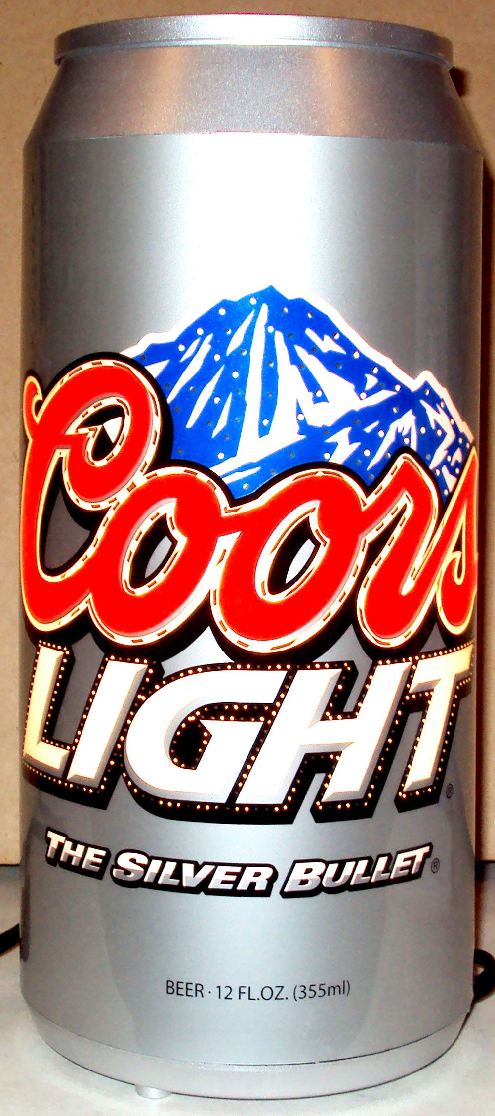 Coors Light Rotating Lamp Coors Light Coors Light Beer Can Coors