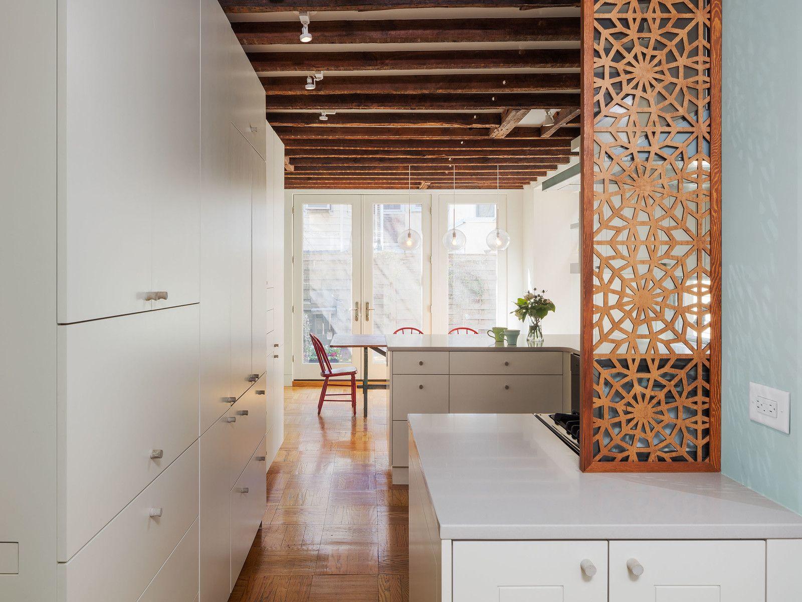 Philadelphia Row House Renovation | Persian pattern, Persian and Modern