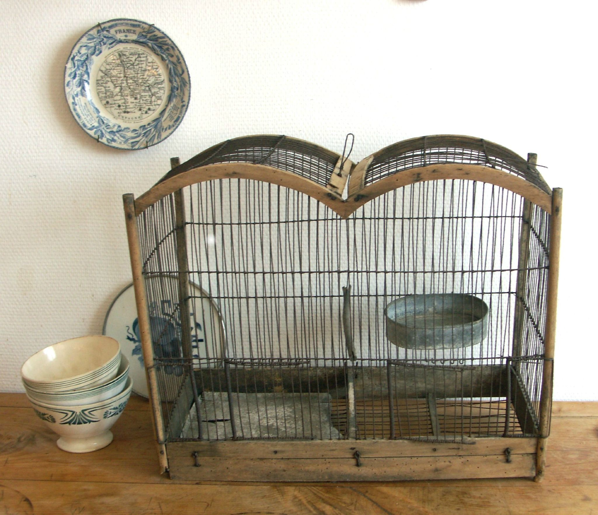 2013 08 cage oiseaux 2 ma petite brocante en ligne pinterest bird cages bird and brocante. Black Bedroom Furniture Sets. Home Design Ideas