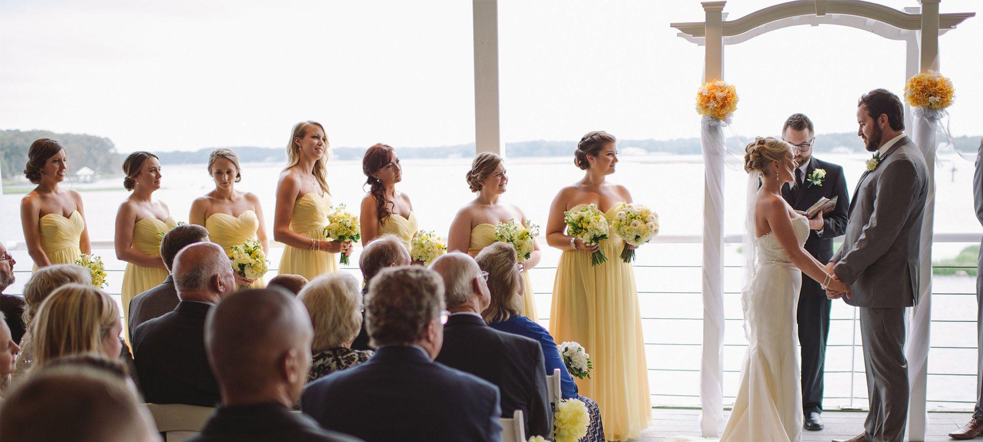 The Lesner InnBeautiful Views Of Virginia Beach Coastal Waterways For Both Ceremonies Receptions Waterfront WeddingCoastal