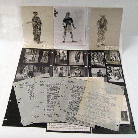 The Ten Commandments Original Costume : Lot 40D