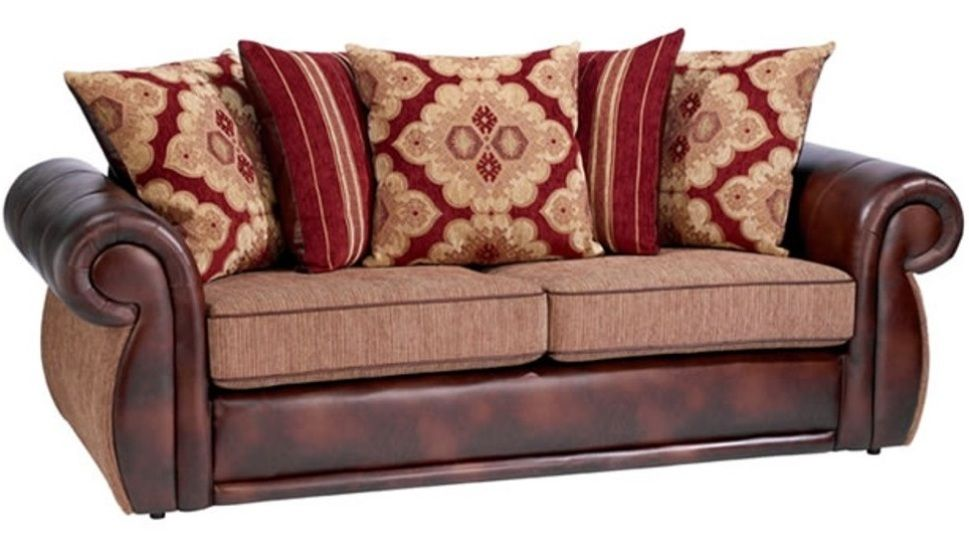 Leather Sofa Vs Fabric Sofa Why Each Of Them Is Still Valuable Cushions On Sofa Leather Sofa Brown Leather Sofa
