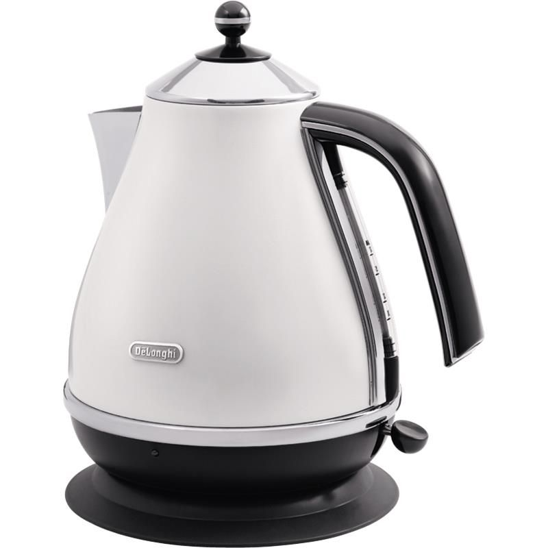 Delonghi Icona Kettle White Electric Kettle Electric Tea Kettle Vintage Tea Kettle