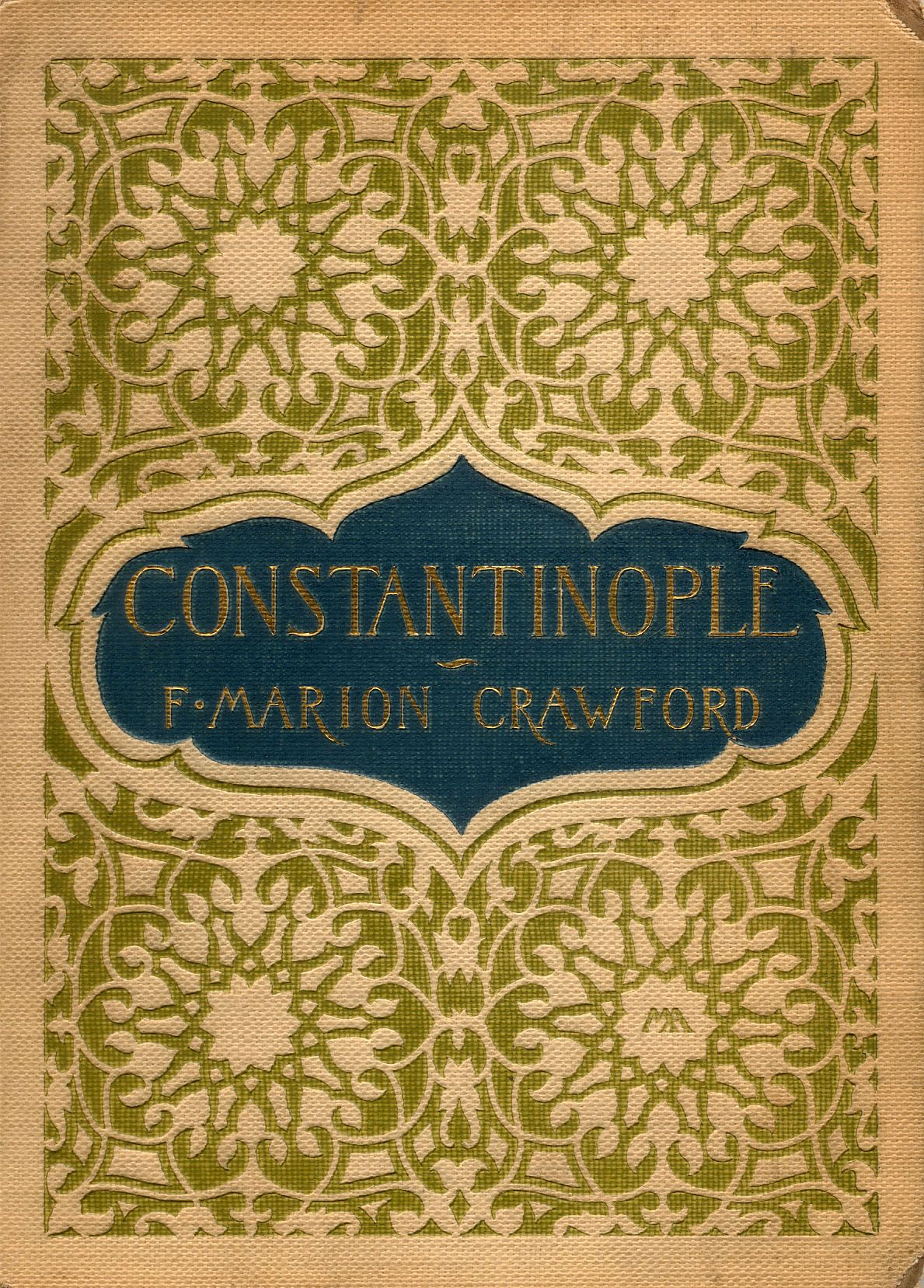 Crawford, F. Marion (Francis Marion), 1854-1909. TitleConstantinople / by F. Marion Crawford ; illustrated by Edwin L. Weeks.  New York : Scribner, 1895.