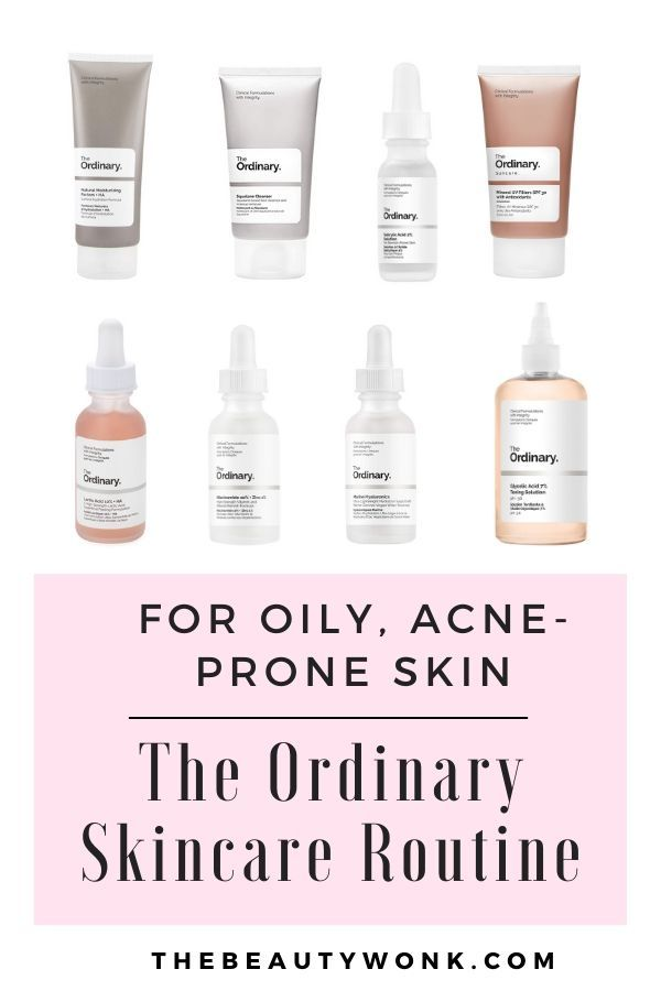 The Ordinary Skincare Routine For Oily Acne Prone Skin Acne Prone Skin Care Acne Skincare Routine The Ordinary Skincare Routine