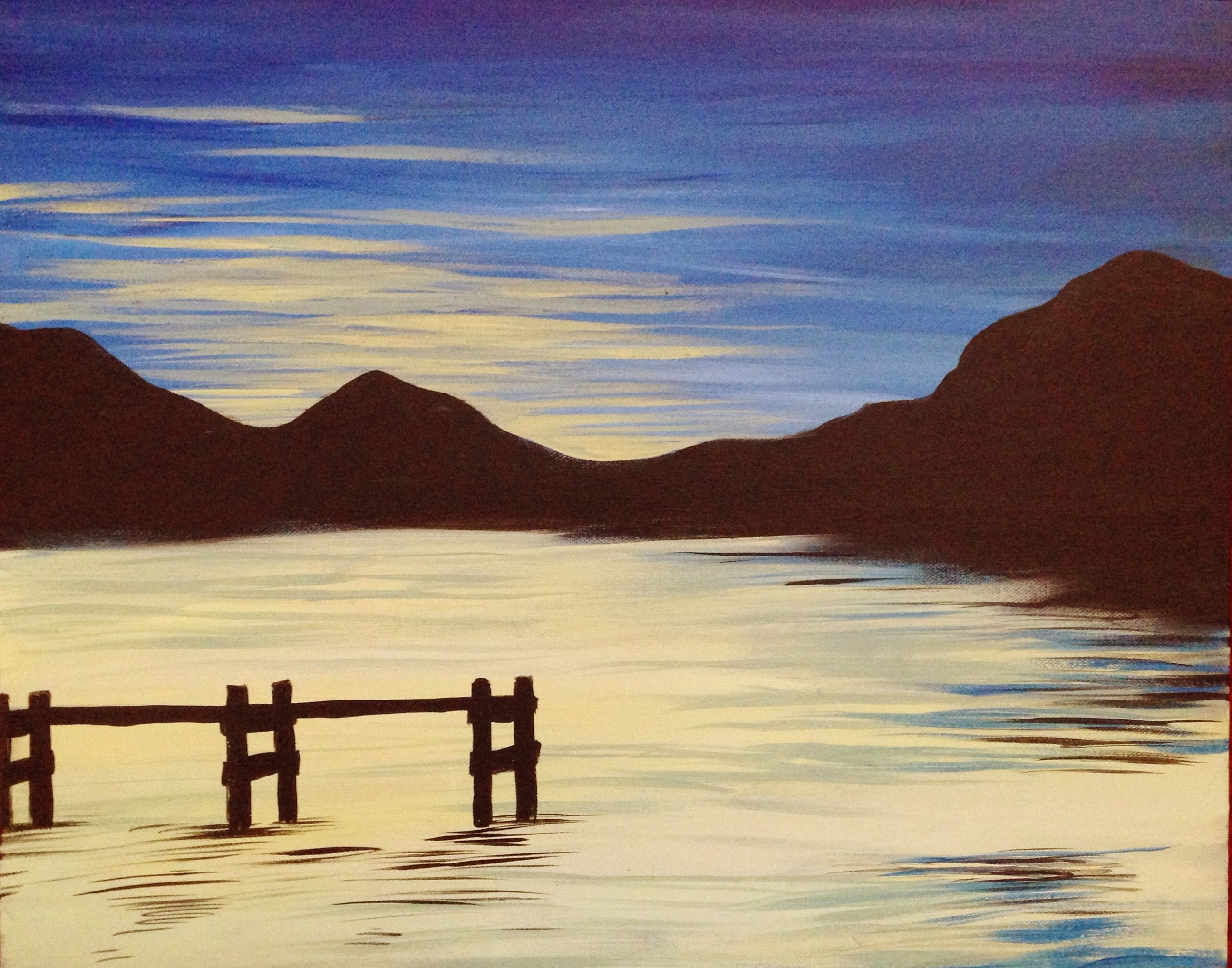 Find your next paint night mountain paintings painting