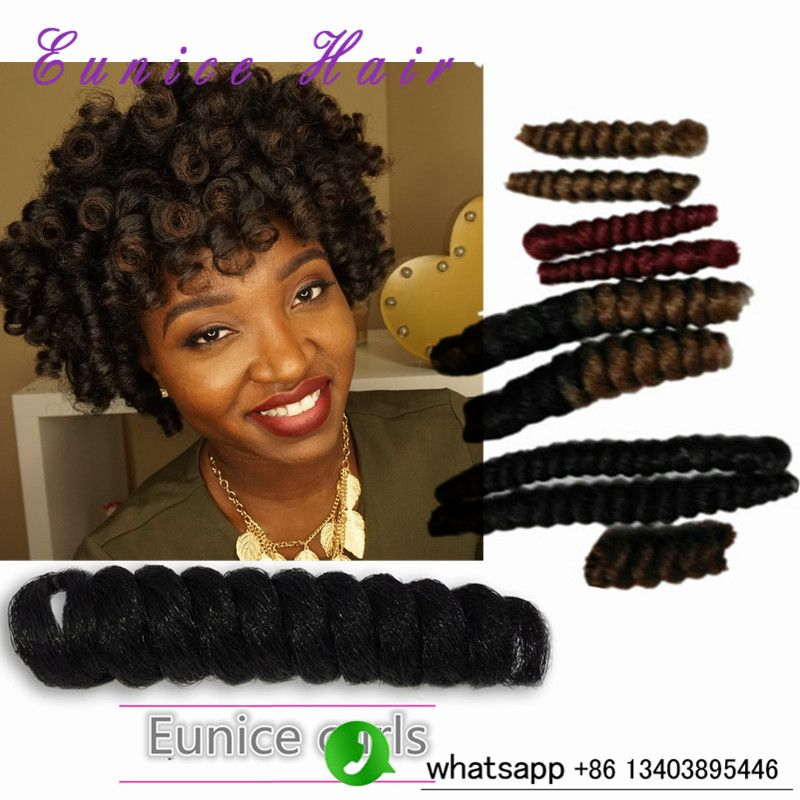 Afro Kinky Twist 100 kanekalon Curly synthetic Braiding hair