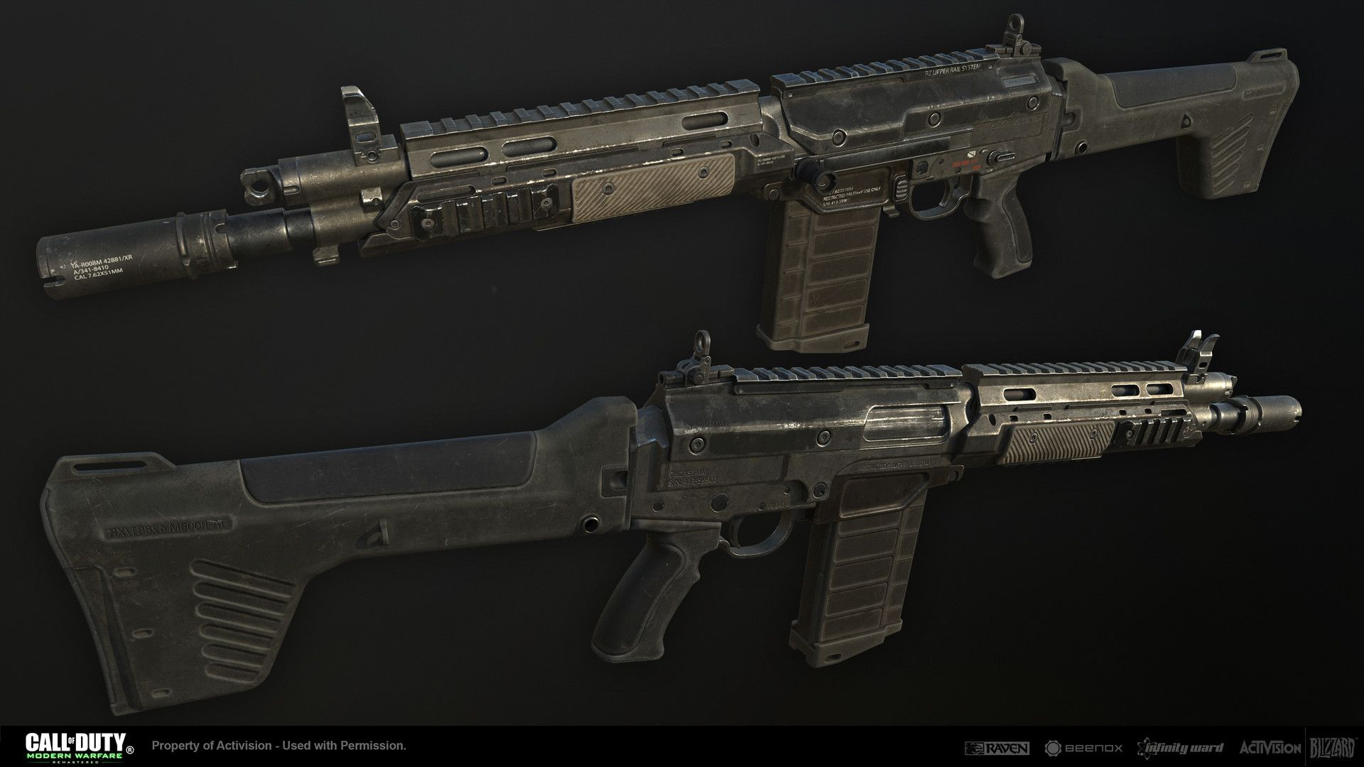 Call of duty modern warfare 2 gun - The Xm Lar Is A Fictional Light Automatic Rifle Made As A Post Launch Weapon For Call Of Duty Modern Warfare Remastered