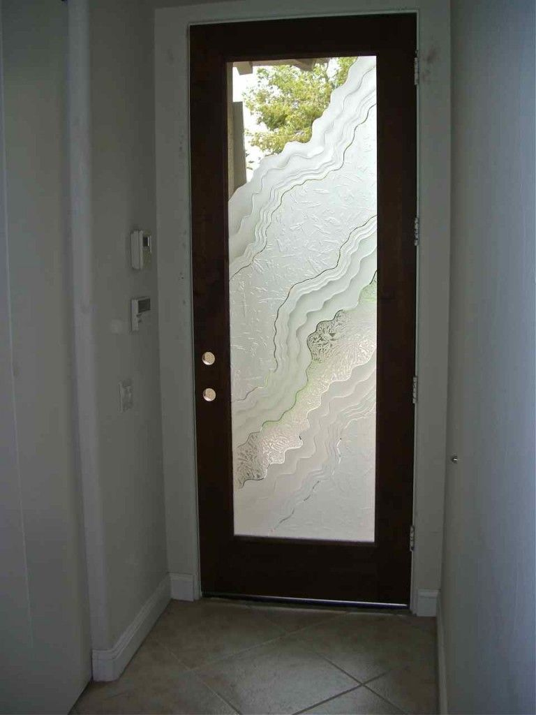 Frosted Glass Exterior Bathroom Door Exterior Doors With Glass