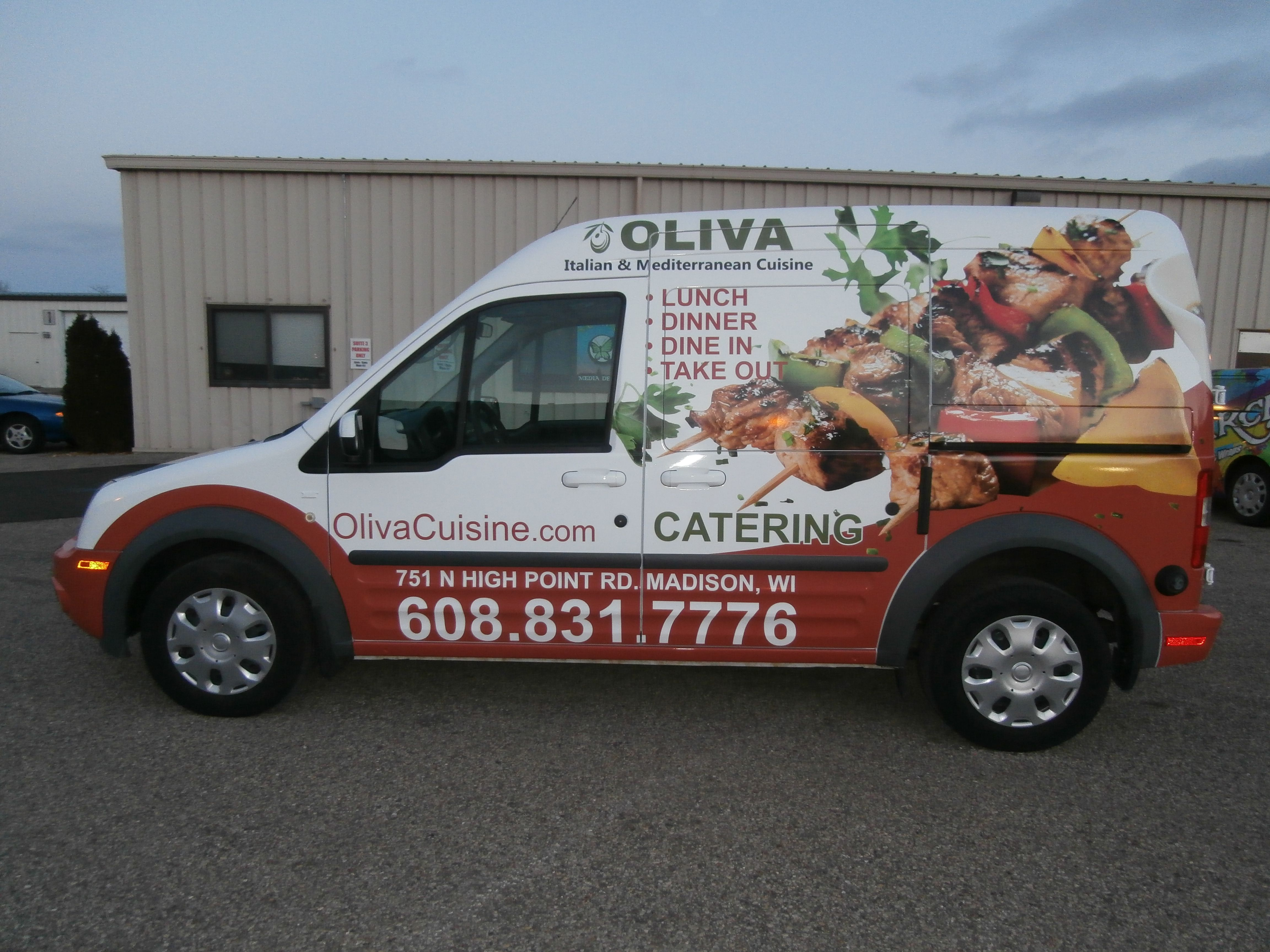 Oliva Vehicle Graphics done by Monarch Media Designs in Madison, WI ...
