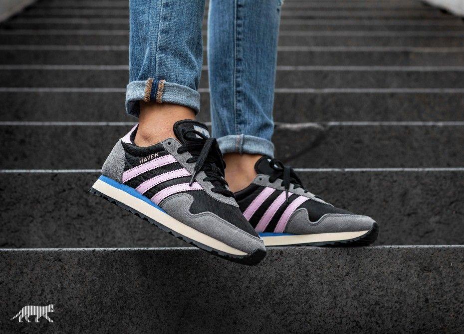 adidas Haven W (Core Black Wonder Pink Grey Four) | Fashion