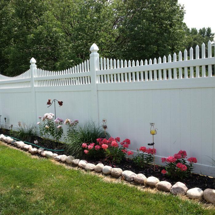 Backyard Fences, Vinyl Privacy Fence