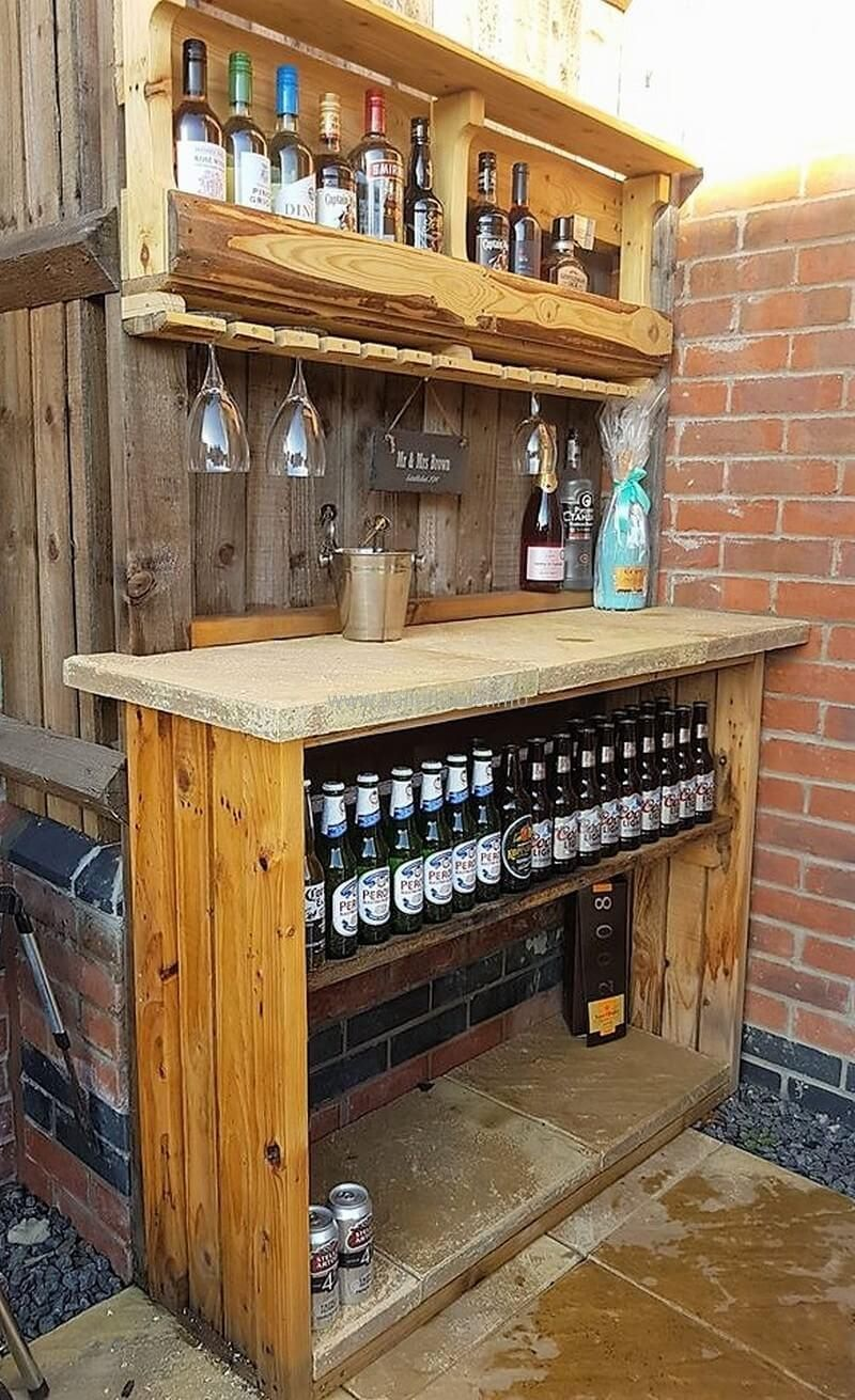 Hedendaags Easy And Cheap Creations out of Wood Pallets | Palletbar LY-69