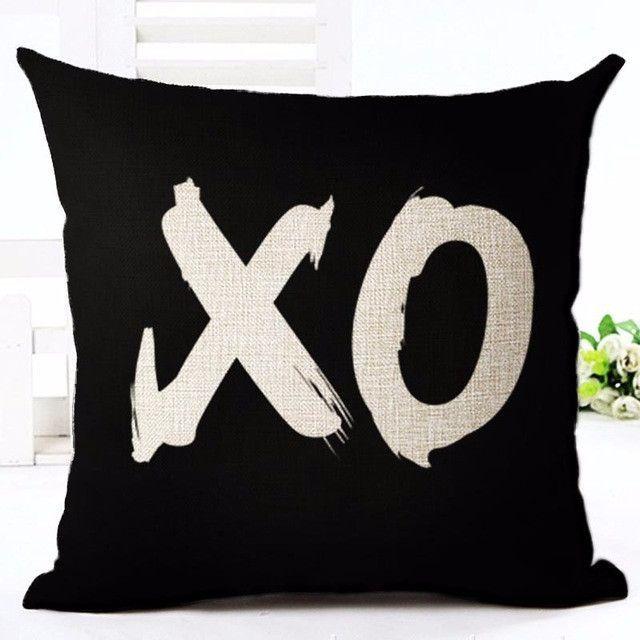 Deer Love Star Panda Printed Cotton Linen Pillowcase Decorative Extraordinary How To Use Decorative Pillows
