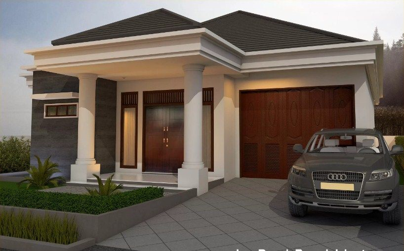 model rumah satu lantai