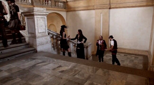 Therion videoclip Adulruna Rediviva . Symphonic metal band