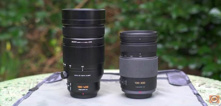 Panasonic 100 400mm Vs 100 300mm Micro 4 3 Comparison Video Panasonic The 100 Comparison