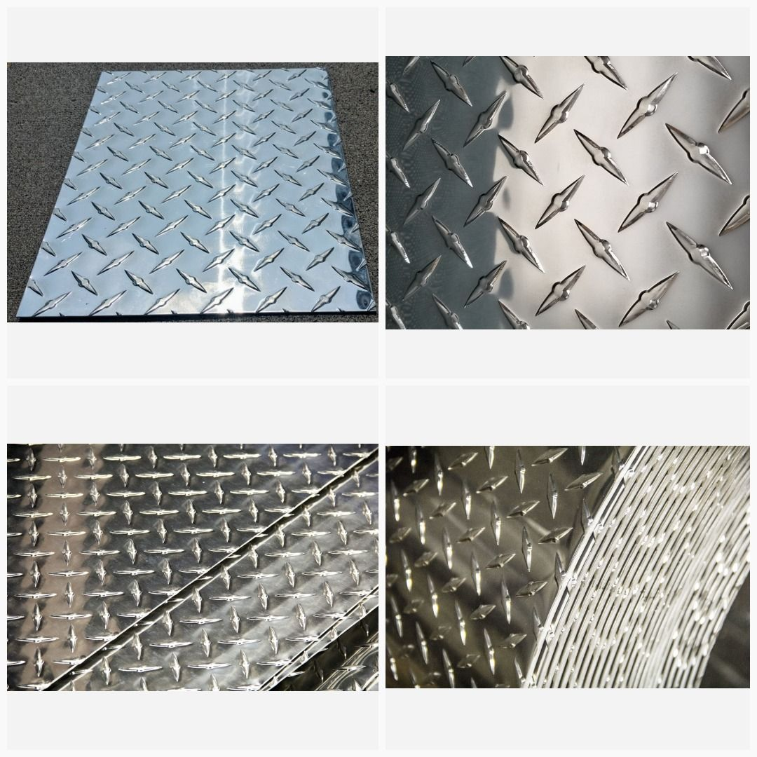 3003 Aluminum Diamond Tread Plate Sheet 190 X 24 X 36 Checker Plate In 2020 Tin Shed Aluminum Aluminium Sheet