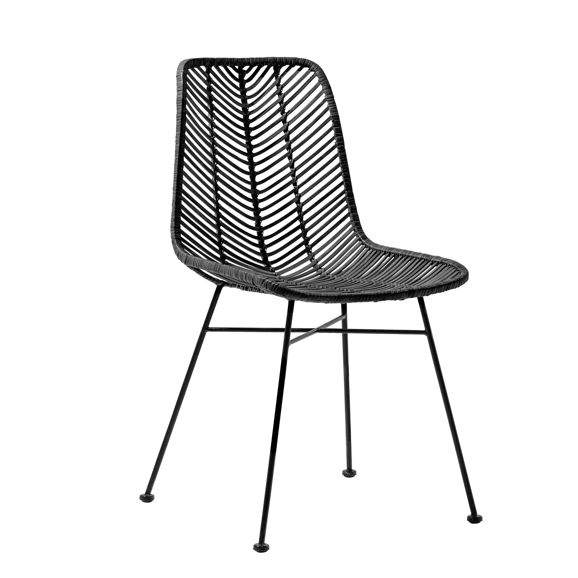 Billig Stuhl Metall Schwarz