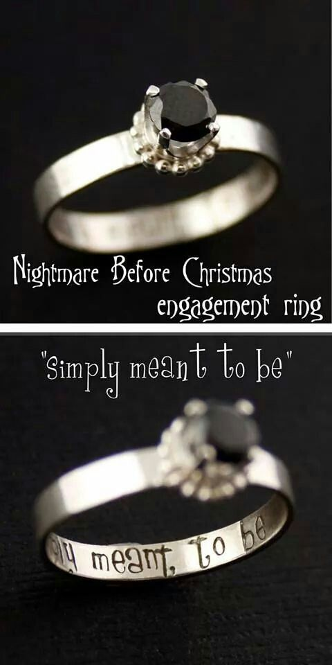 Jack Skellington Pesadilla Navidad Ajustable Ring Jewellrey
