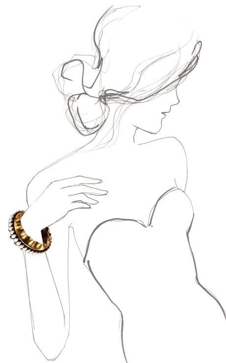 Lafitte Cuff by Nicole Romano for Preorder on Moda Operandi