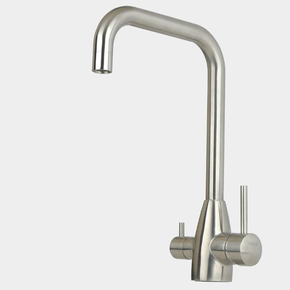 Lead Free 304 Stainless Steel Kitchen Faucet Mixer Drinking
