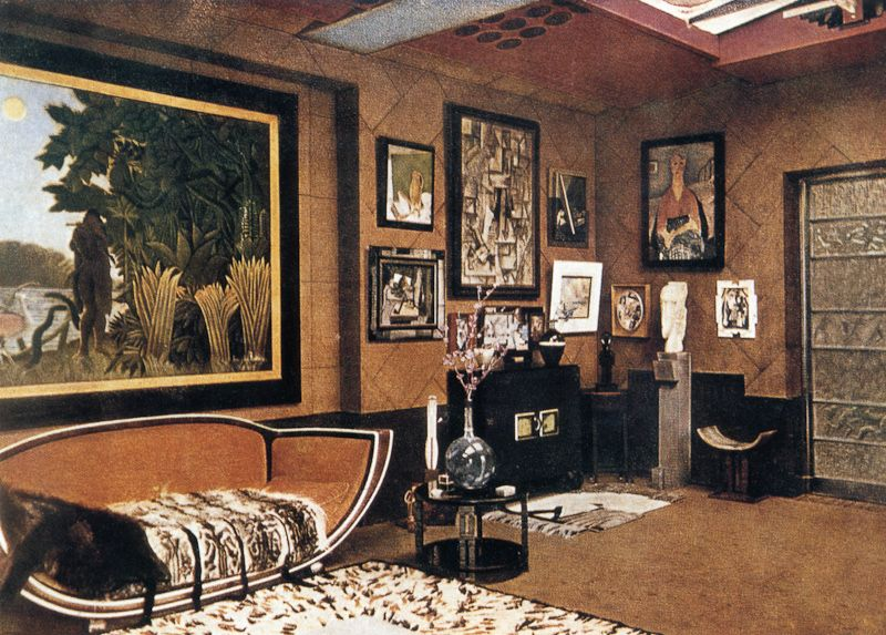 Art deco interior design style for The interior deco