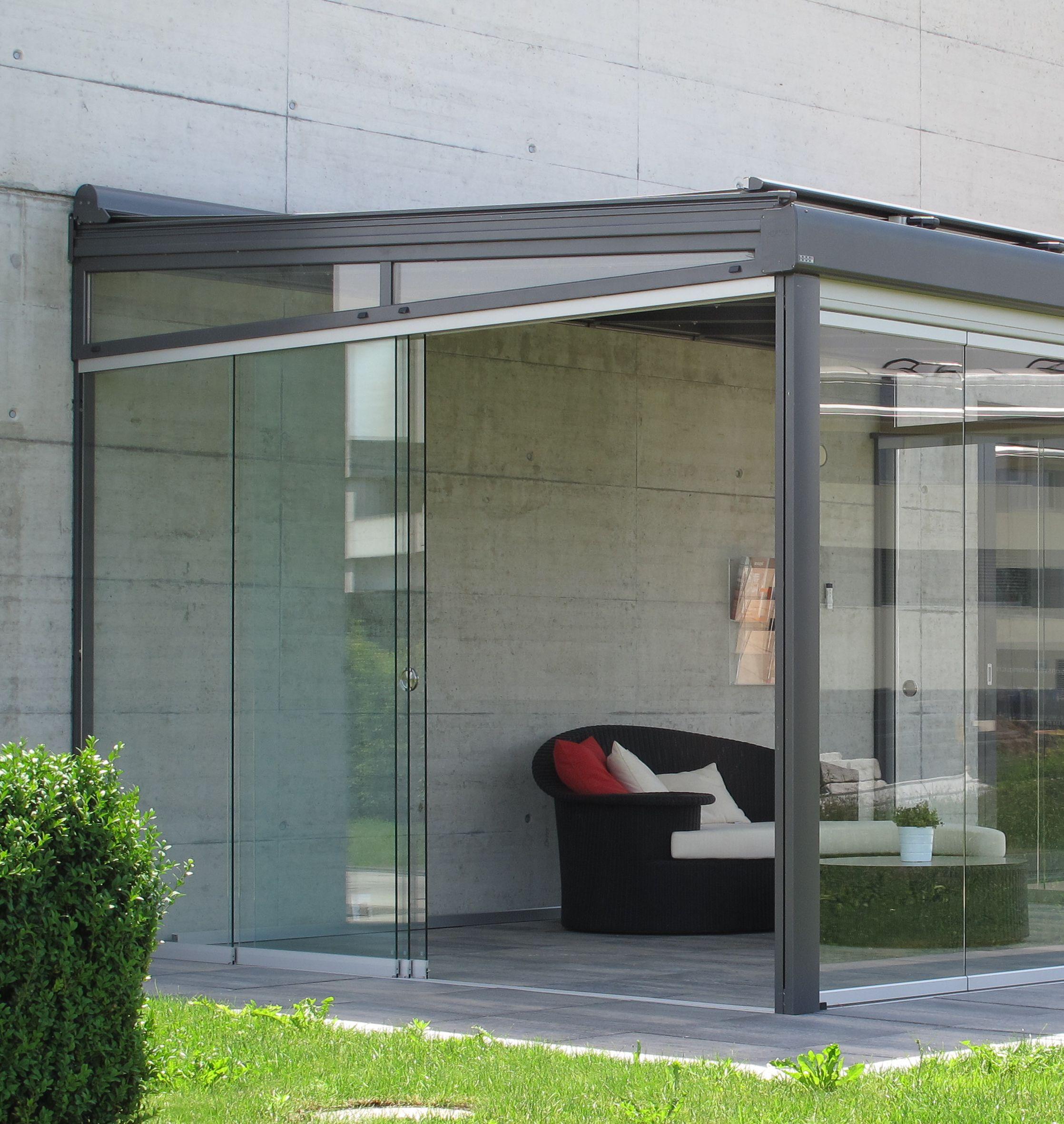 die ganzglasoase f r den garten das terrassendach. Black Bedroom Furniture Sets. Home Design Ideas