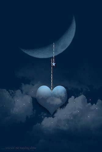 I wear my heart on the Moon