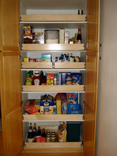 Pullout Drawers Kitchen Organizer Kitchen Pantry in California