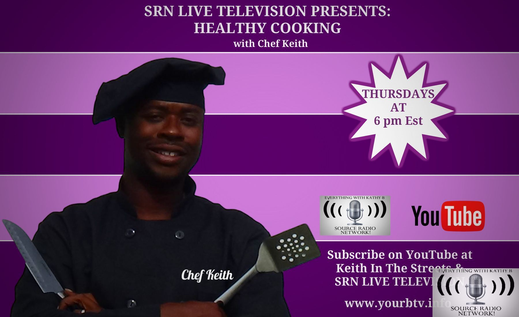 Source Nation! Join us tonight at 6 Est for SRN Live