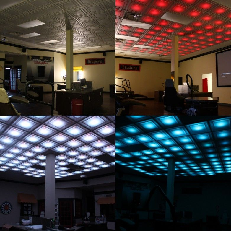 led drop ceiling great for man cave and basement bars on smart man cave basement ideas id=13291