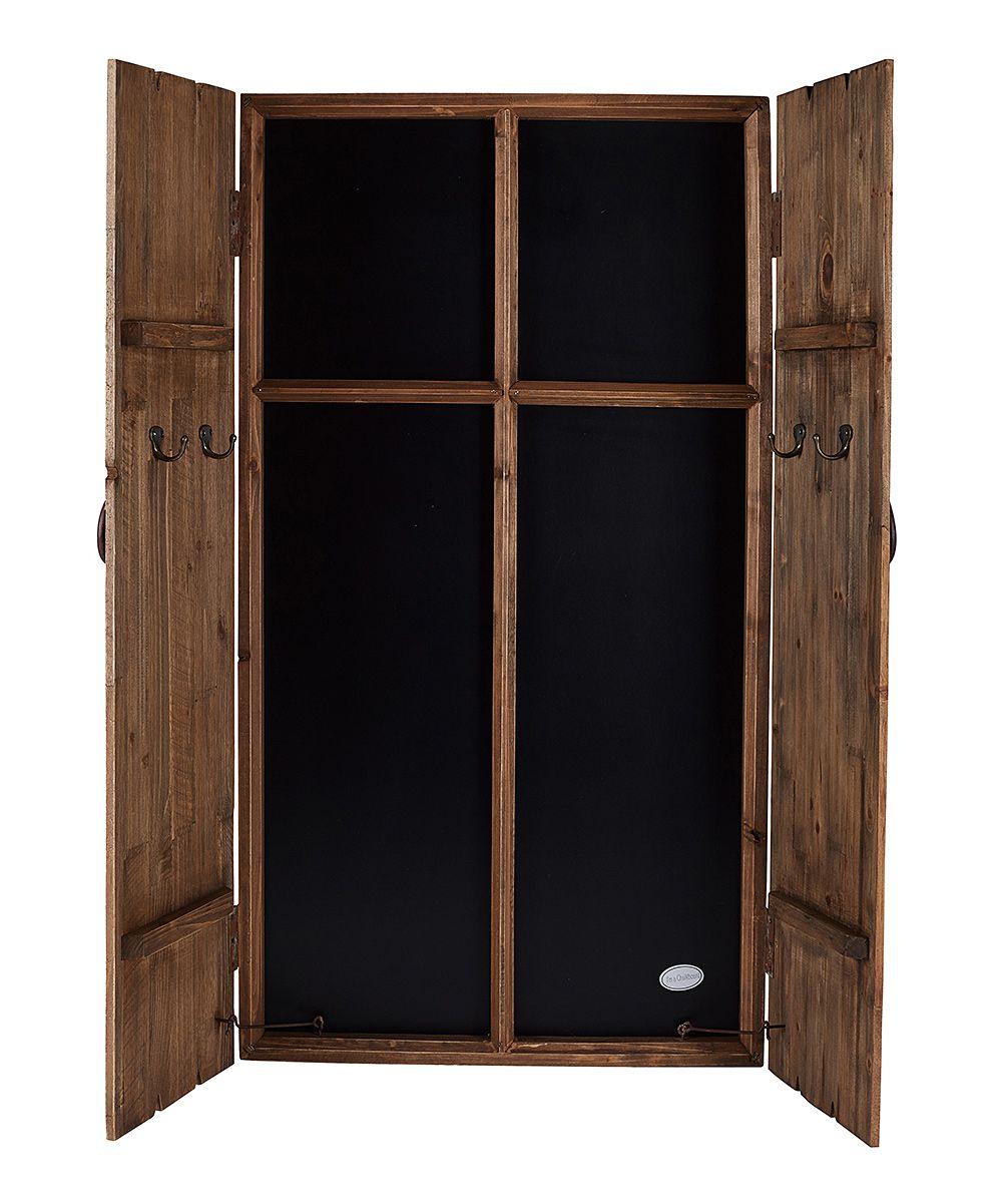 Wood Barn Door Chalkboard Wood barn door, Wood, Doors