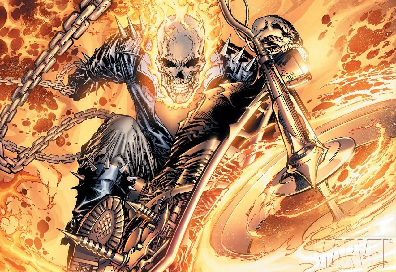 ghost rider desktop nexus wallpaper, 1280x879 (434 kb) | gogolmogol