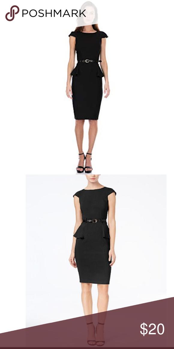 Xoxo Black Peplum Dress Size S In 2018 My Posh Picks Pinterest