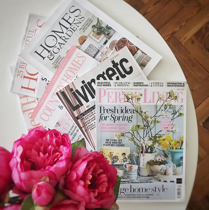 Interiors magazines are where we go for inspiration for our homes. We just can't get enough of them.  See what interior stylist gets from them on this blog post on InsideStylists.com     #interiorstylists #interiorstyling #interiors #insidestylists.com  #freelance  #freelancestylist #editorial #tstyling #homestyling #interior4all #interiordetail #interiorstylists #interiorstyling #interiors #insidestylists.com  #magazine #magazinestylist #freelancestylist  #feature   #interiormagazine  #flowers