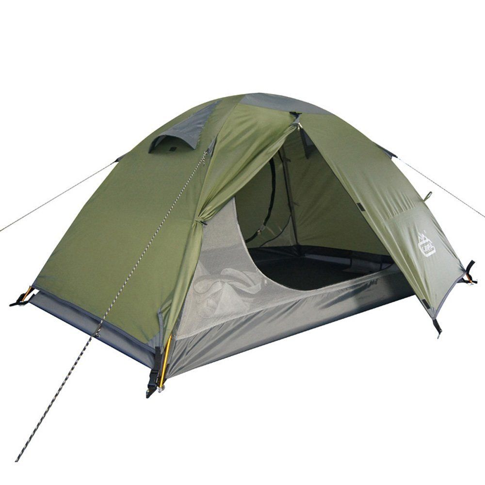 C&pal Backpacking Tents 2 Person Double Layers 4-Season Lightweight For C&ing ***  sc 1 st  Pinterest & Camppal Backpacking Tents 2 Person Double Layers 4-Season ...
