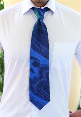 GUCCI Tie, Blue, Blue black, Green   $97.50 OBO