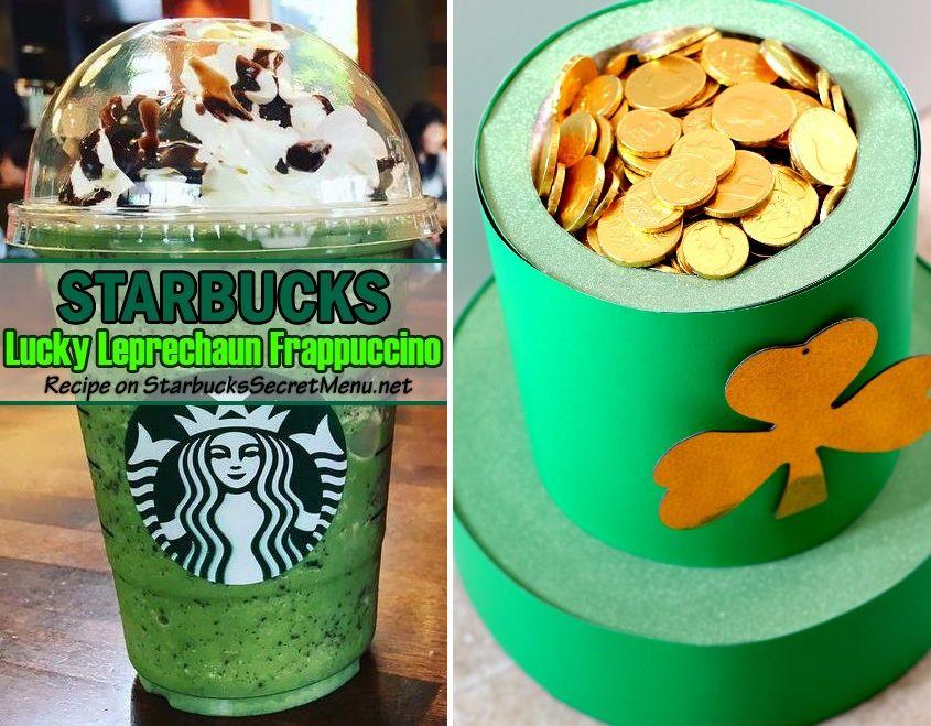 Starbucks Lucky Leprechaun Frappuccino Starbucks secret
