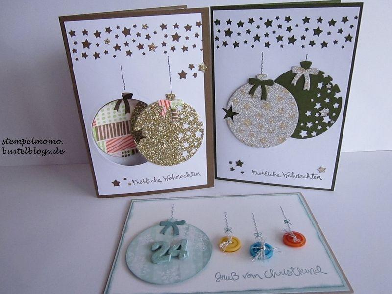 wir feiern weihnachtskarten papier weihnachten stampin up karten
