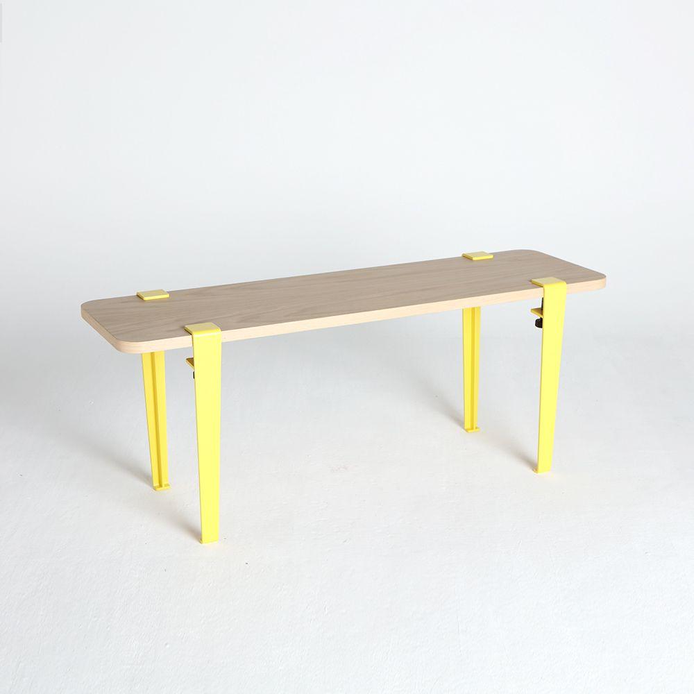 pied design color pied en acier et table design pied rectangulaire pour - Pied Rectangulaire Pour Table
