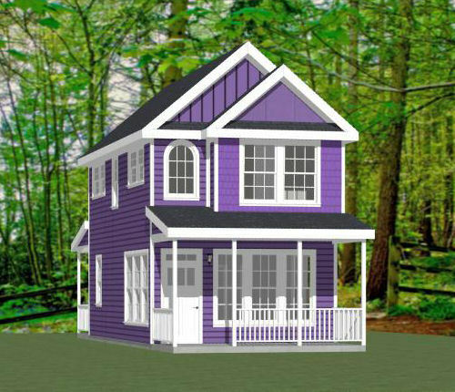 16x30 House 2 Bedroom Pdf Floor Plan 901 Sq Ft
