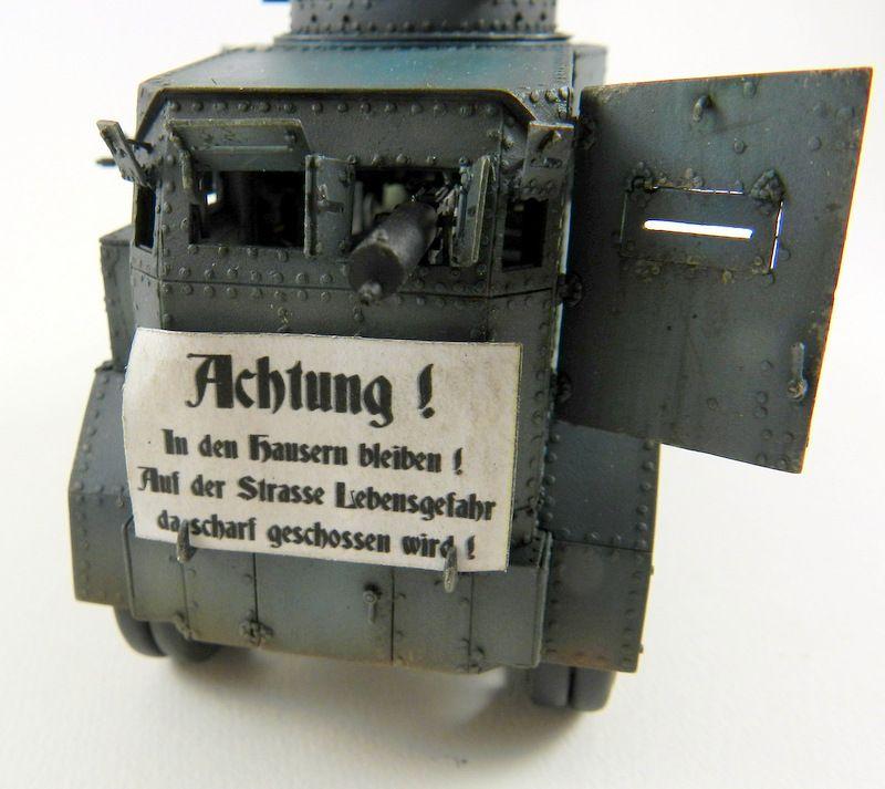 "EHRHARDT M1917 "" gun truck"" ( 1/35 WHITE STORM MODELS)"