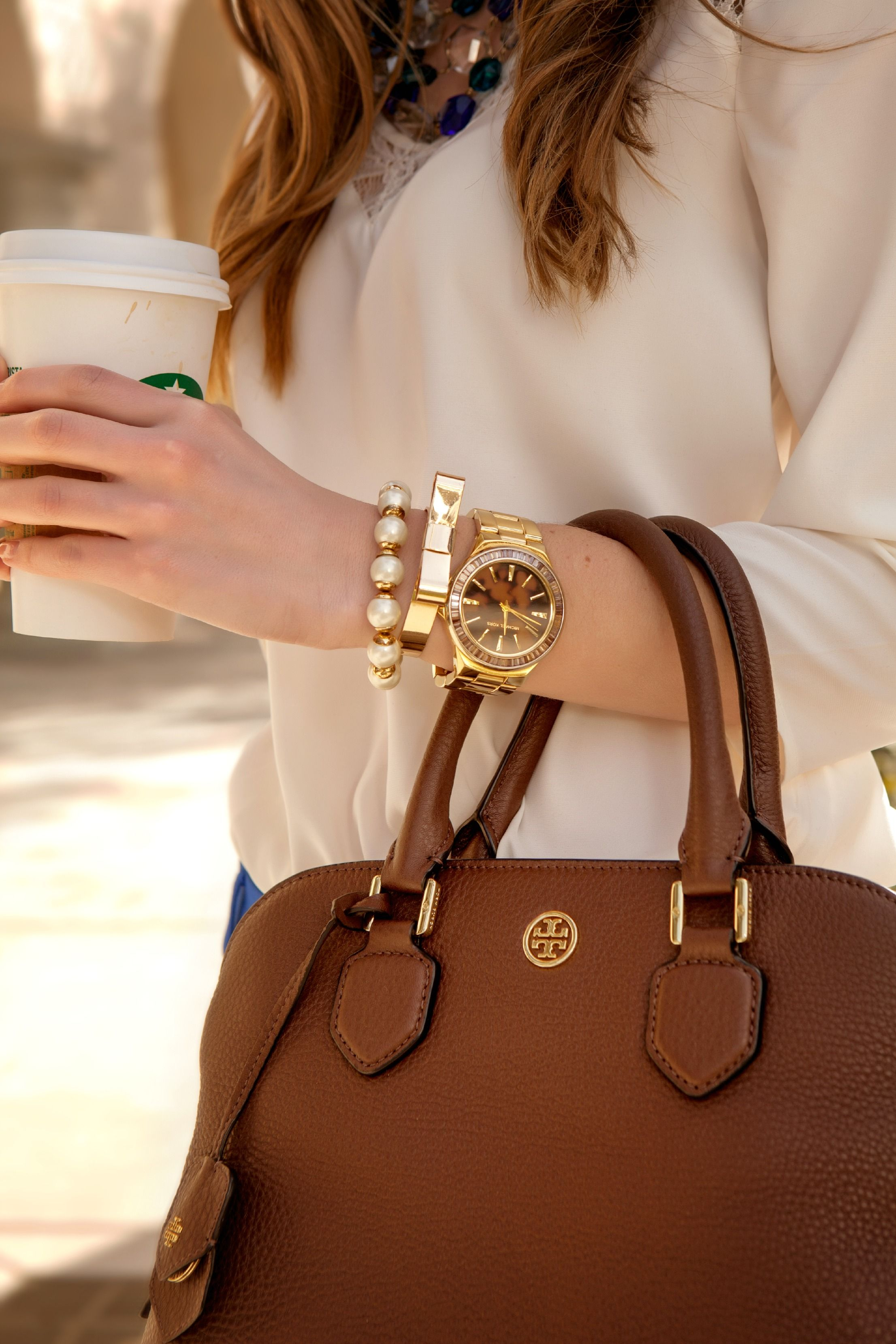 d0c76064c569 This Tory Burch Robinson Satchel is everything.