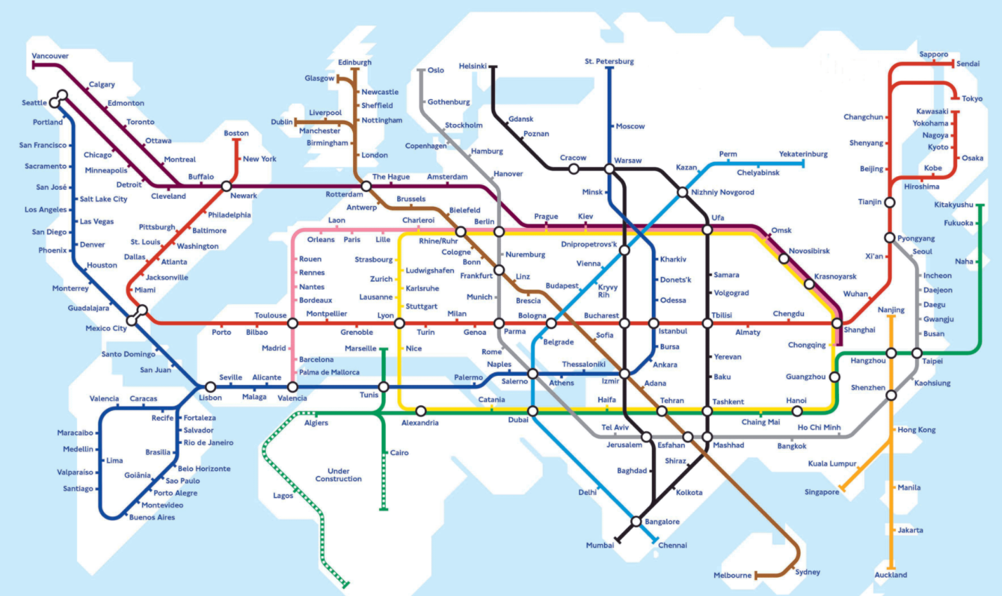 London Map World.Metro Map World Hyperloop Solarpunk The Future Starts Now Map