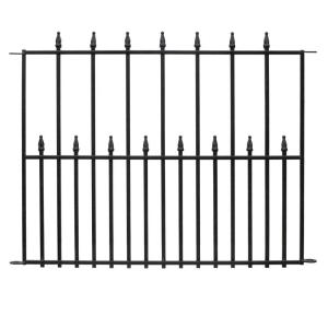 The Empire Fence Is A Versatile Fencing Solution That Will Add Style And Elegance To Your Garden Or Walkway Th In 2020 Fence Panels Steel Fence Panels Backyard Fences